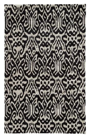 Faded Ikat Rug West Elm