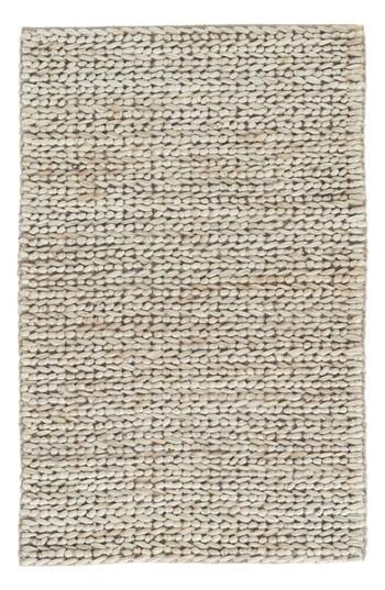Albert Woven Natural Jute Cotton Rug