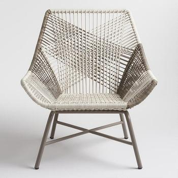 Terrific West Elm Huron Lounge Chair Look For Less Squirreltailoven Fun Painted Chair Ideas Images Squirreltailovenorg