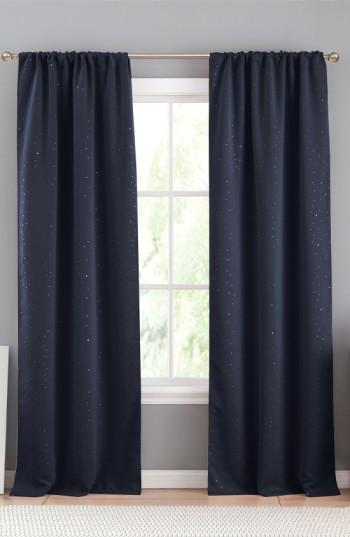 Davis Navy Blackout Window Panels