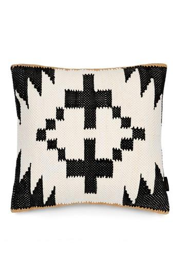 Black And White Geometric Pillow