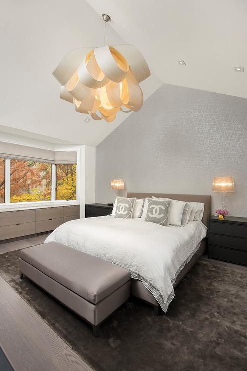 Ikea Edland Contemporary Bedroom Farrow Amp Ball Pale