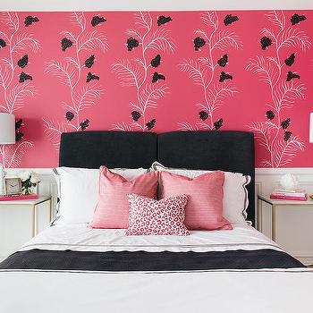 Pink And Black Girls Bedroom Colors