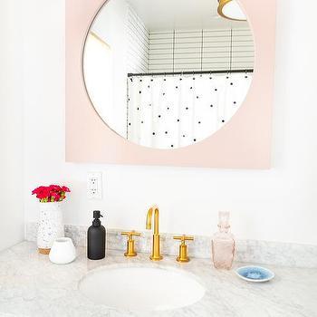 Mike Ally Rose Quartz Bath Accessories