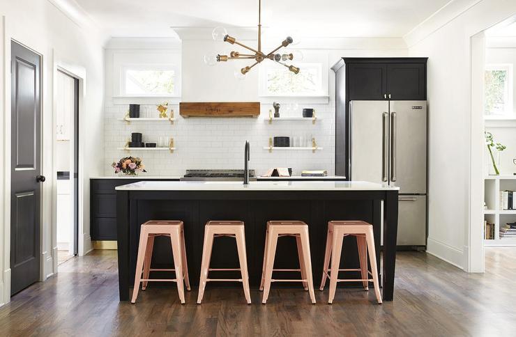 Pink And Black Kitchen Design Ideas
