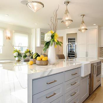 Waterfall Kitchen Island Design Ideas