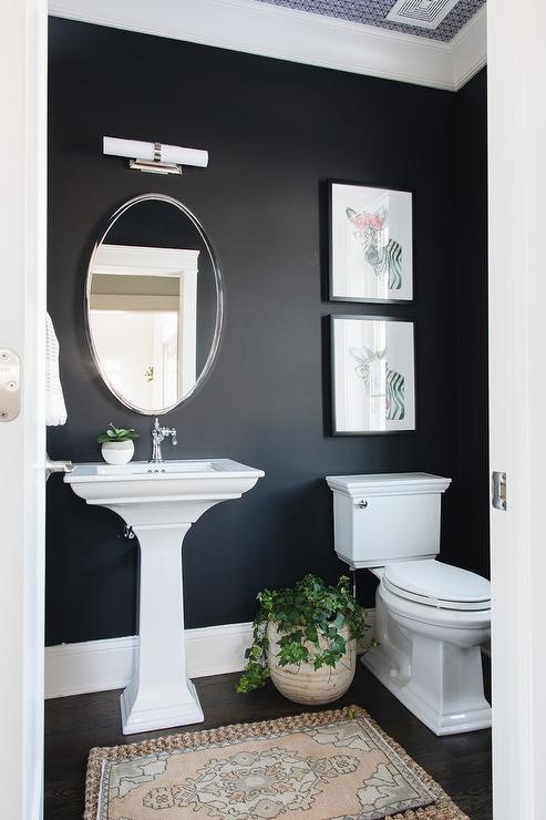 Powder Room Wall Ideas