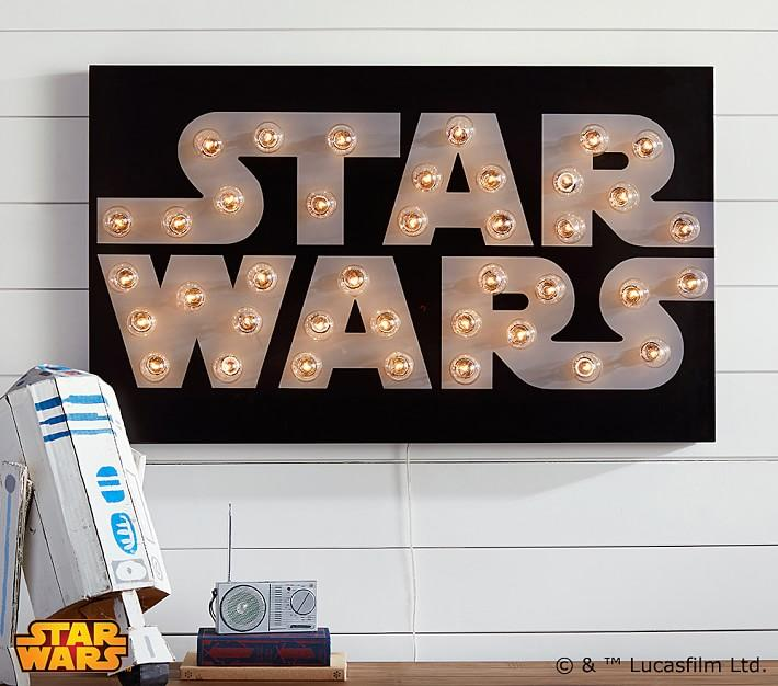Star Wars Light Up Marquee Wall Art