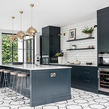 Awesome Hexagon Pattern Kitchen Floor Tiles Design Ideas Interior Design Ideas Jittwwsoteloinfo