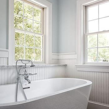 Master Bath Window Seat Traditional Bathroom