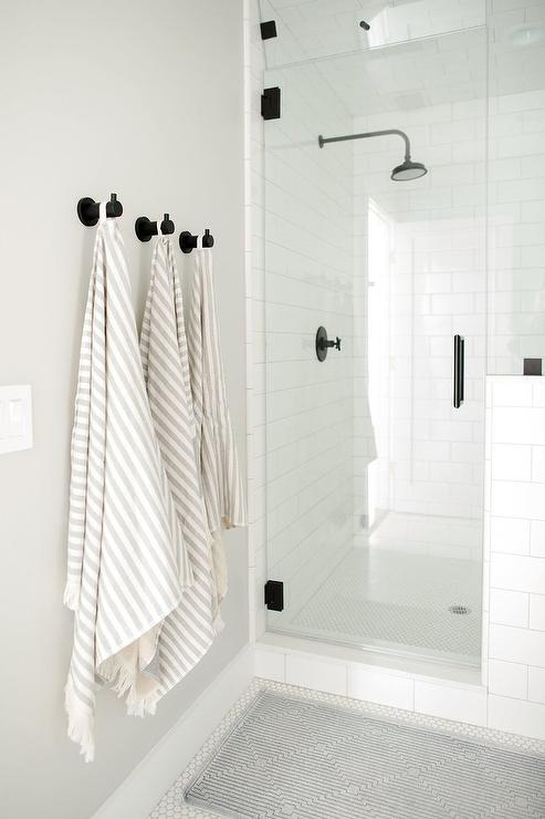 Shower Niche Transitional Bathroom Style At Home