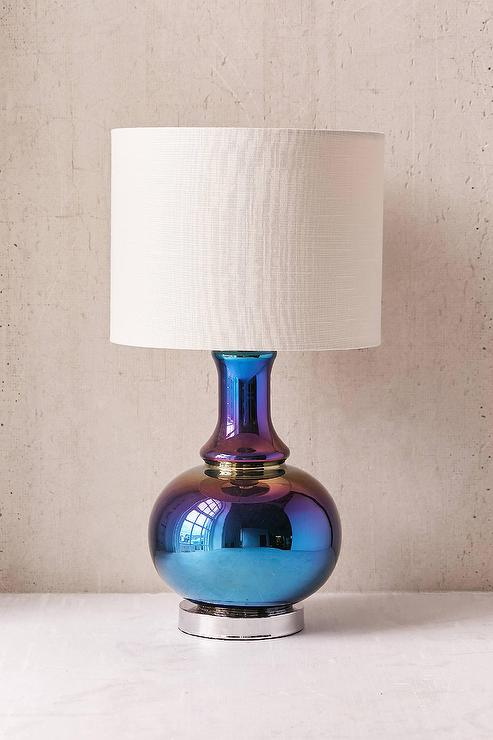 Oil slick ceramic table lamp mozeypictures Image collections