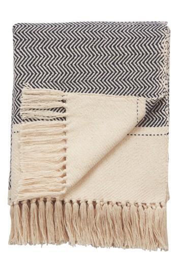 Nate Berkus Woven Knit Gold Throw