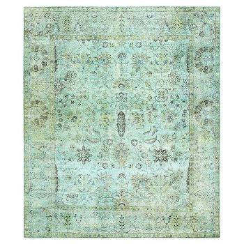 Rug Collective Vintage Inspired Overdyed Rug Overstock Com