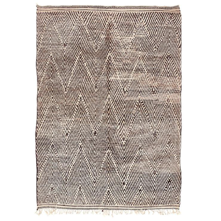 Found Moroccan Berber Rug