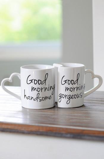 Morning White Mugs Good Coffee Ceramic SUMpqzV