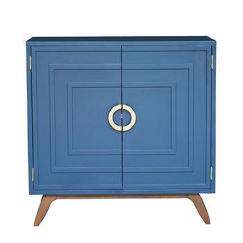 Bond Side Table Zinc Door