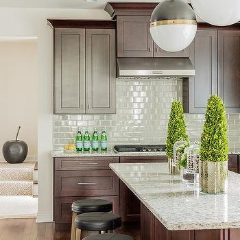 White Kitchen Cabinets Brown Granite Design Ideas