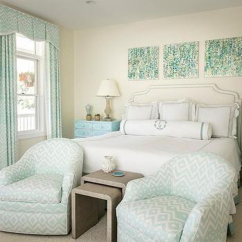 Aqua And Light Blue Bedroom Colors