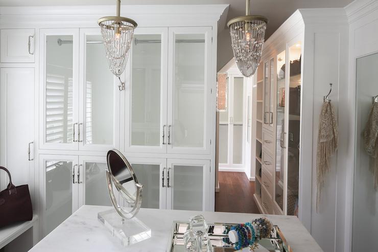 Closet Chandeliers Design Ideas