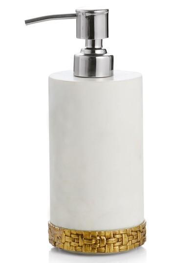 Relatively Michael Aram Gold Palm Marble Soap Dispenser MK86