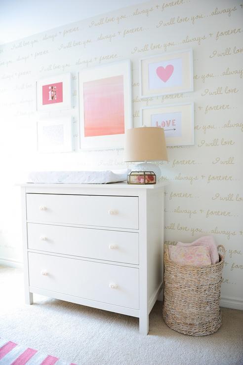 ikea hemnes nursery dresser as changing table - Lit Hemnes Ikea