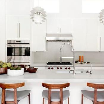 Mid Century Modern Kitchen Island Counter Stools Design Ideas
