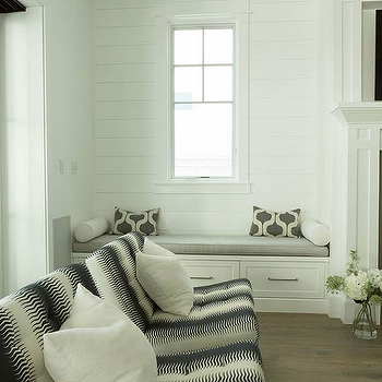 Built In Bench With Platinum Gray Cushion