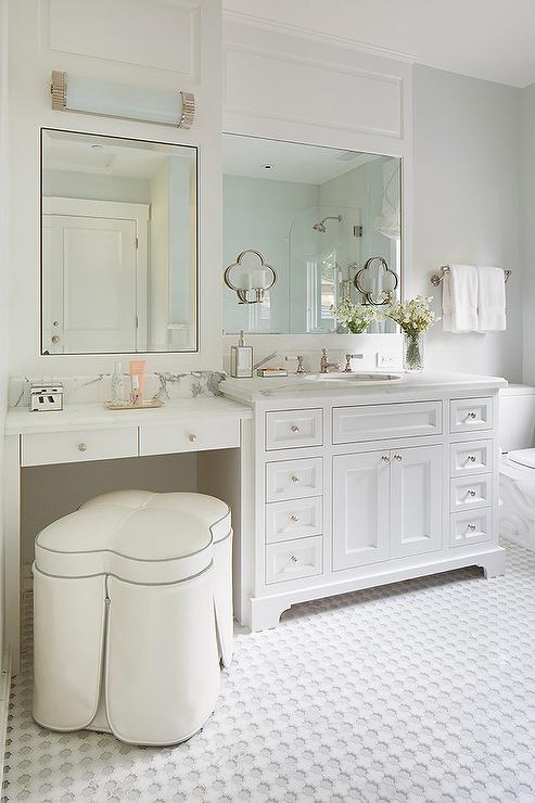 Built In Make Up Vanity Design Ideas
