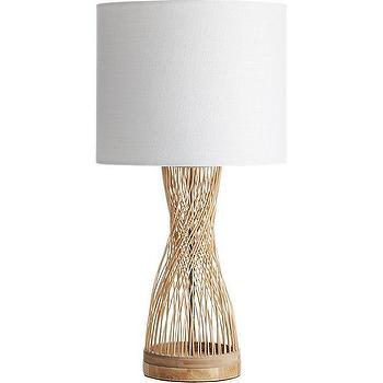 Threshold Pewter Woven Wire Table Lamp With White Oval Shade I Target