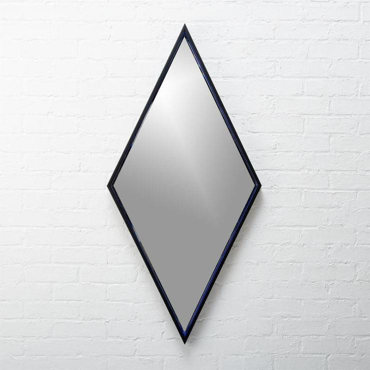 diamond mirror - wall mirrors - wall decor - home decor