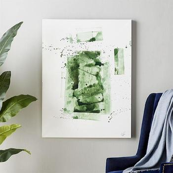 White Canvas Green Painting Products Bookmarks Design Inspiration And Ideas