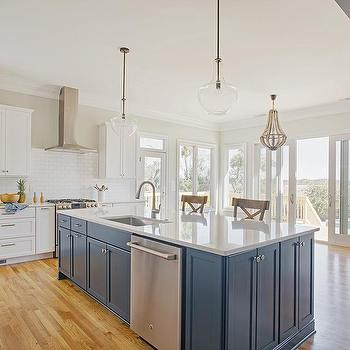 Half Wall Kitchen Backsplash Design Ideas