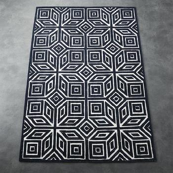 Dalyn Infinity Cobalt Blue Greek Key Rug