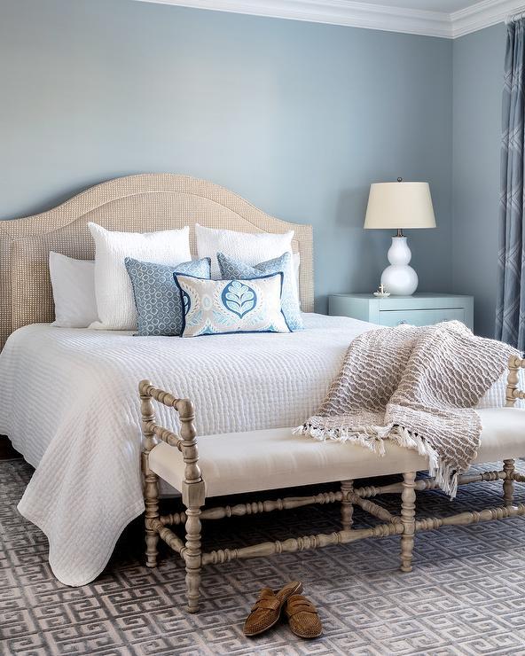 Bedroom Colors Beige beige and blue bedroom colors - cottage - bedroom