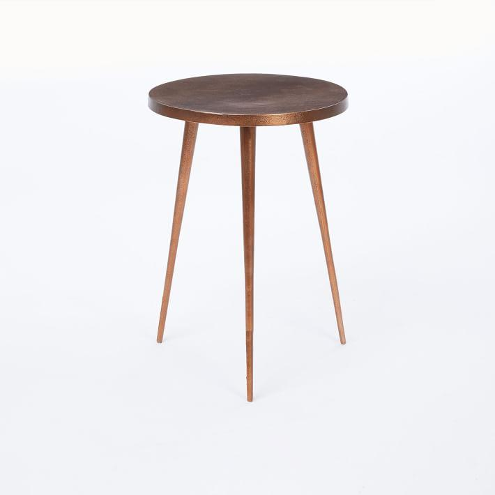 Silver Tripod Side Table Products Bookmarks Design Inspiration - West elm tripod side table