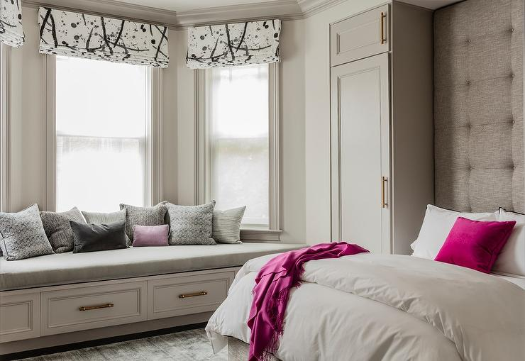 Hot Pink And Gray Bedroom Colors