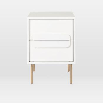 check out f297e 2c139 Circular Overlay White Nightstand - Products, bookmarks ...