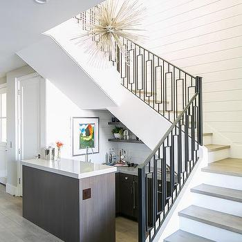 Under Staircase Mini Bar Design Ideas