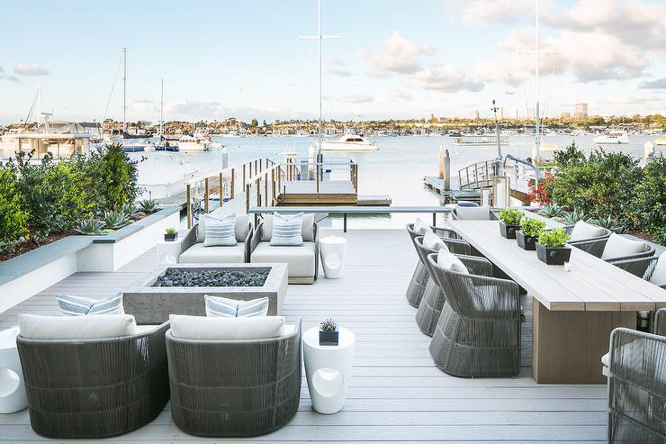 Beau Pier Deck With Restoration Hardware Furniture