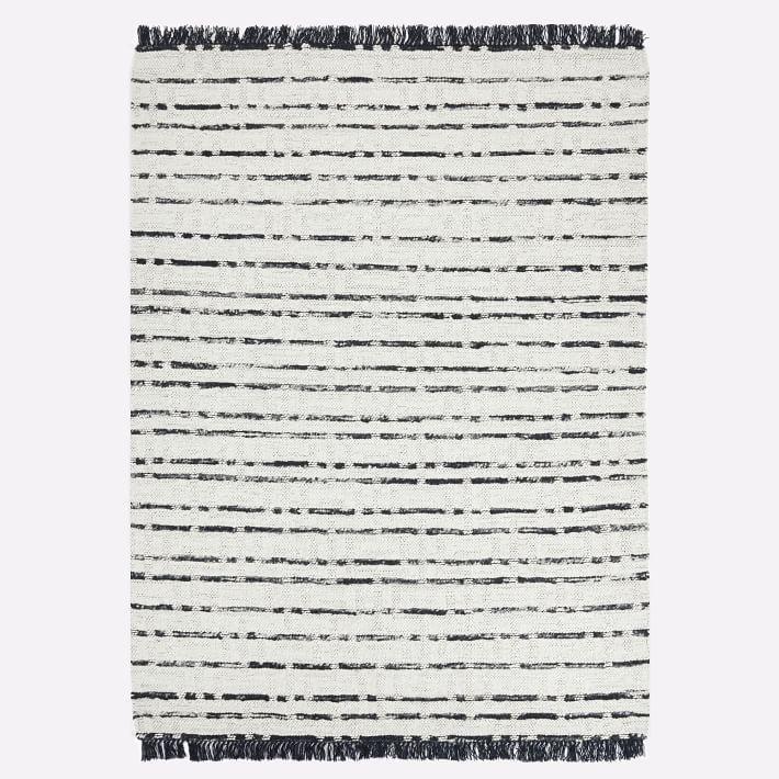 Black And White Tassel Rug: Cost Plus World Market