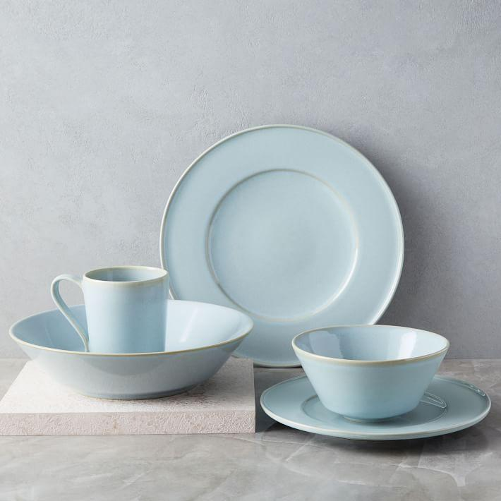 & Terra Light Blue Dinnerware Set