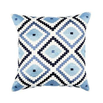 Diamond Ikat Embroidered Pillow - Products, bookmarks, design ... on gold pillow ideas, striped pillow ideas, animal print pillow ideas, handmade pillow ideas, denim pillow ideas, flower pillow ideas, chenille pillow ideas, monogram pillow ideas, decorative pillow ideas, modern pillow ideas, pink pillow ideas, knitted pillow ideas, fleece pillow ideas, sewn pillow ideas, crochet pillow ideas, elegant pillow ideas, pillow cover ideas, bath pillow ideas, felt pillow ideas, stitched pillow ideas,