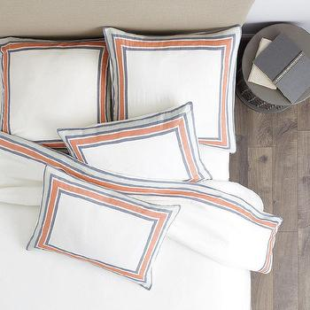 Graphic Traffic Flannel Bedding I Garnet Hill