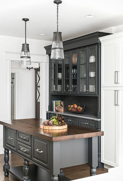 Charcoal Gray Kitchen Cabinets Design Ideas on