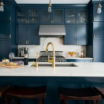 Gold Kitchen Faucet With Stainless Sink