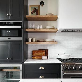 White Plaster Kitchen Hood Design Ideas