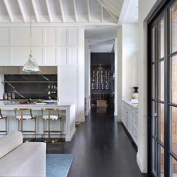 Art Deco Gold Kitchen Counter Stools Design Ideas