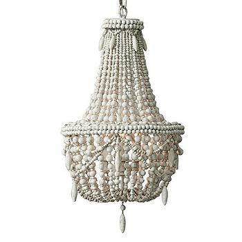 pageant flower petal chandelier with beaded eight white shades arm