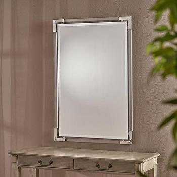 Savoy Acrylic Gold Beveled Mirror